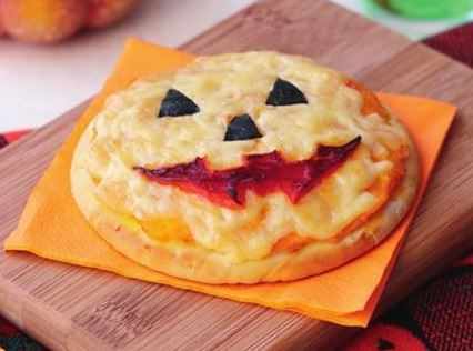 "Jack-o'-lantern pumpkin pizza, recipe via our sister site,[*Women's Weekly Food*](https://www.womensweeklyfood.com.au/recipes/jack-o-lantern-pumpkin-pizza-8061|target=""_blank"")"