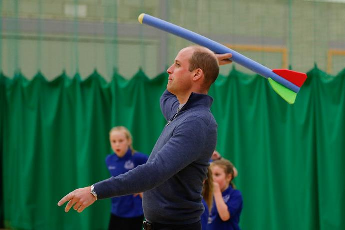 Wills gave foam arrow throwing a run for its money. *(Image: Getty)*