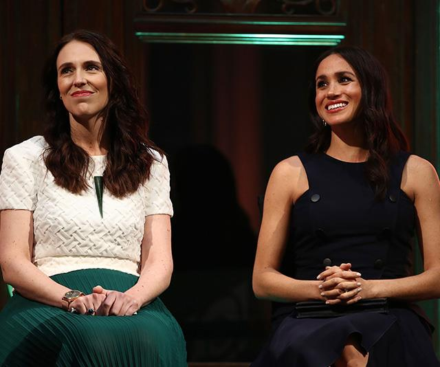 Leading ladies indeed - the event was held with New Zealand Prime Minister, Jacinda Ardern. *(Image: Getty Images)*
