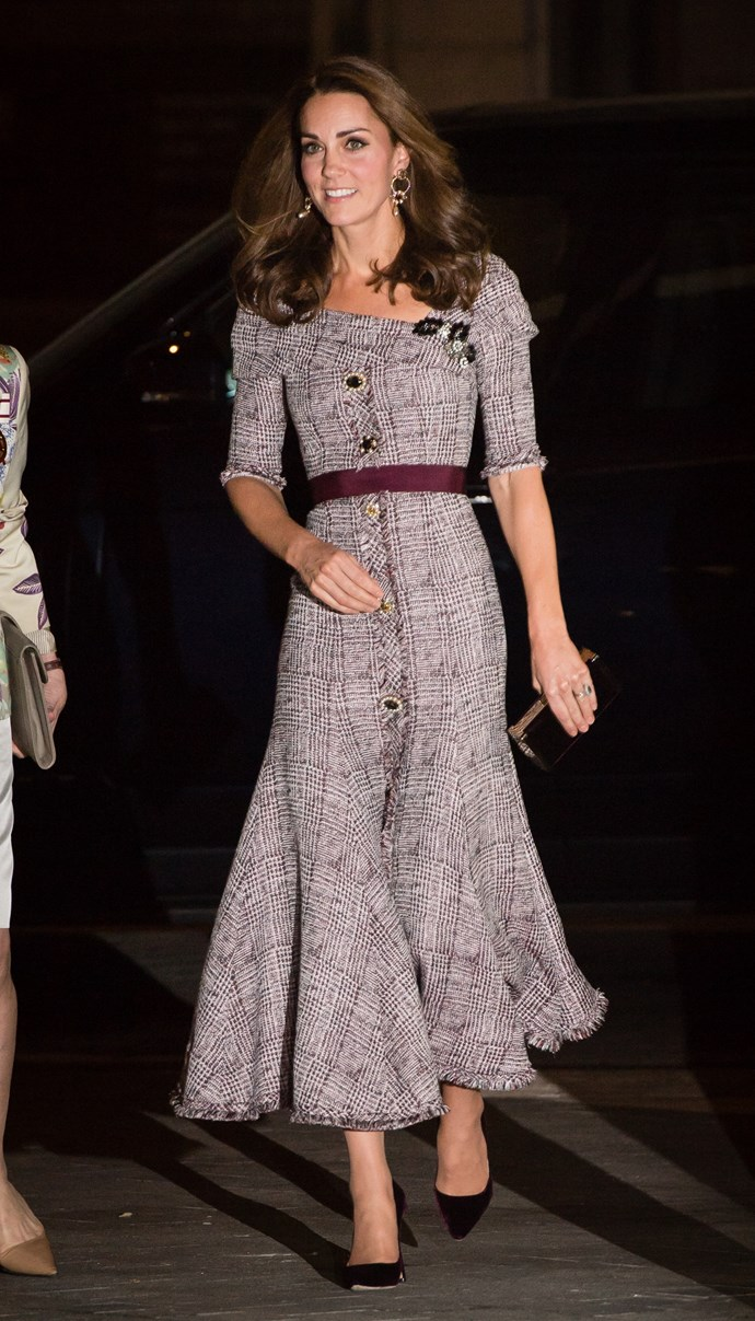 Duchess Kate has one strengthening move she uses daily - the plank! *(Source: Getty)*
