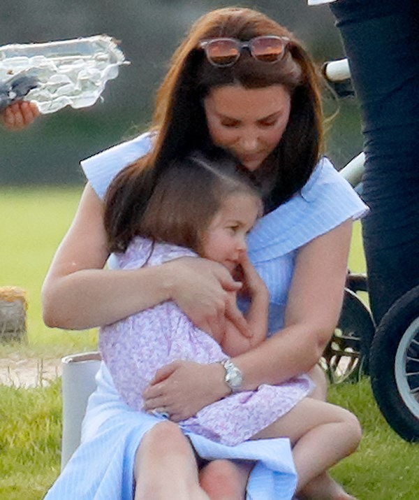 Because no matter what your status in life, sometimes all you need is Mummy's lap. *(Image: Getty Images)*