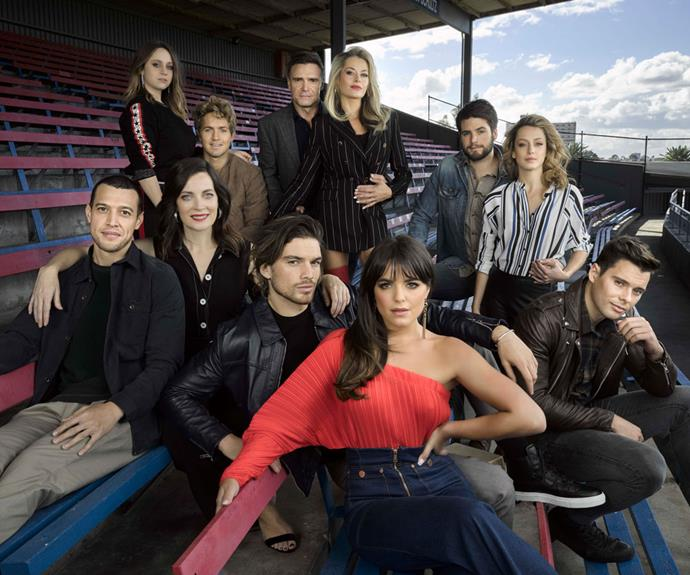 The cast of *Playing For Keeps.*