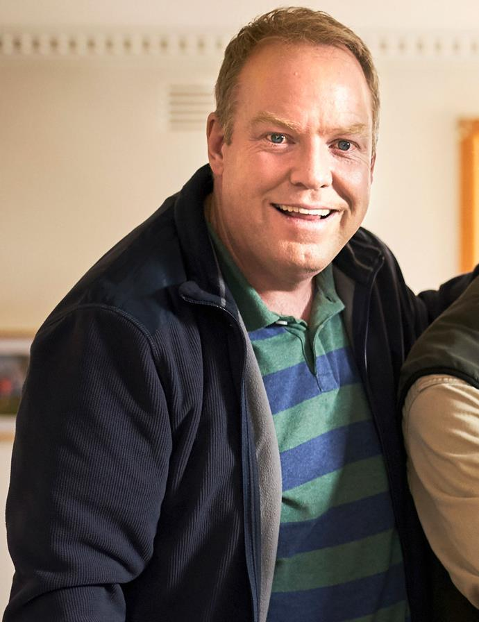 **Greg Butler (Peter Helliar)** <br><br> A Births, Deaths And Marriages employee for what seems like forever, Greg has never had cause to complain. But when his wife decides to relaunch her career, it gets him thinking about his own. Being a stay-at-home dad has never been so appealing.