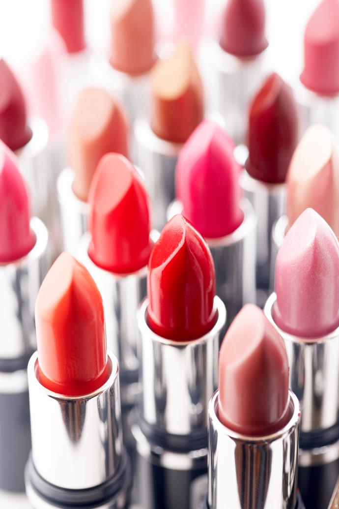 An angled lippy reflects an energetic personality! *(Image: Getty)*