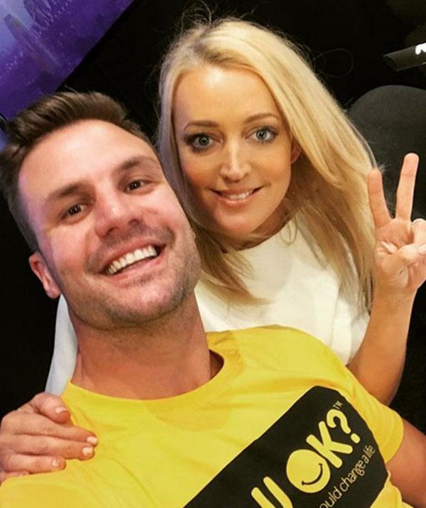Beau has co-hosted with Jackie when Kyle's been off sick *(Image: Jackie O Instagram)*