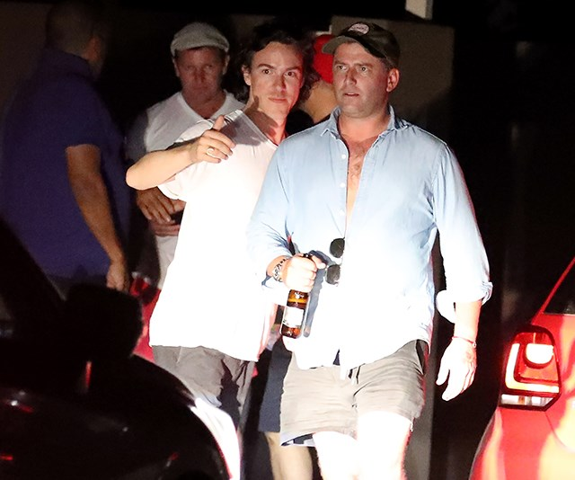 Karl was partying in Queensland to celebrate his upcoming marriage to Jasmine Yarbrough.