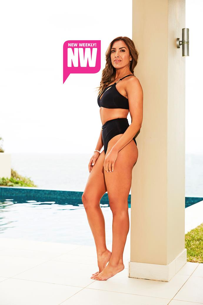 Nadia Stamp faced body critics for years as a model. *(Source: NW Exclusive)*