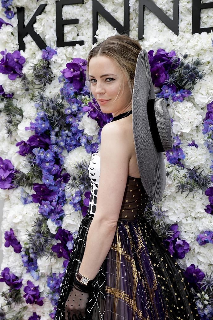 Melissa George at Derby Day in 2017.