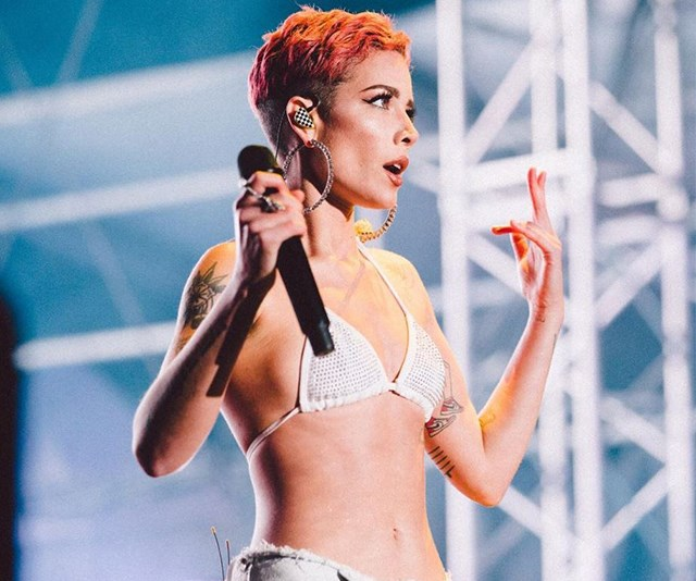 After being misdiagnosed numerous times, pop singer Halsey was finally told she had endometriosis, and then treated for it. *(Image: Instagram @iamhalsey)*