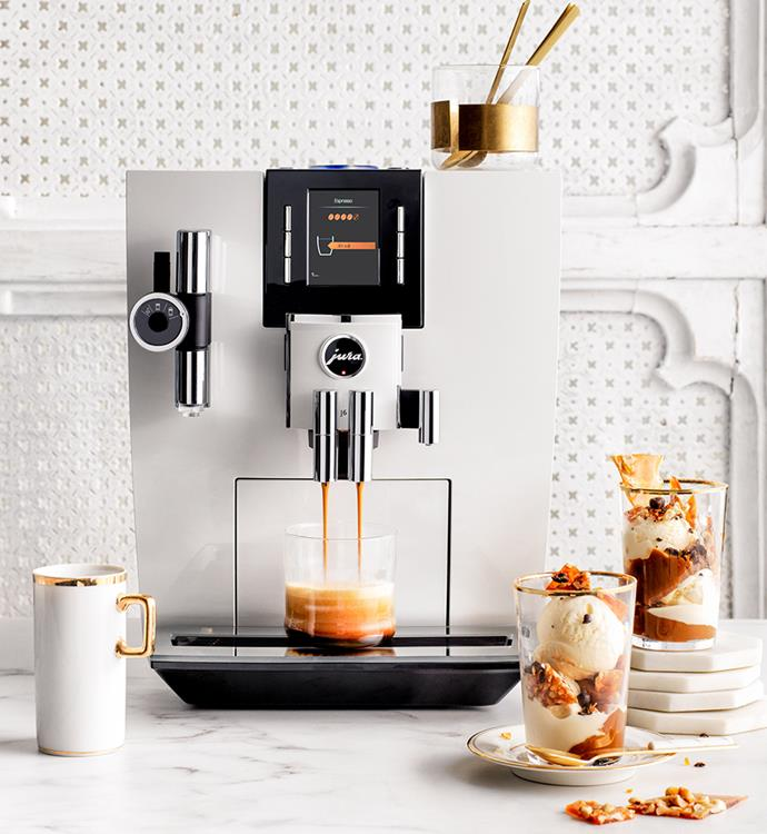 "[Jura S8 Auto Coffee Machine in Chrome](https://www.harveynorman.com.au/jura-s8-auto-coffee-machine-chrome.html|target=""_blank""|rel=""nofollow""), $2650 at Harvey Norman"