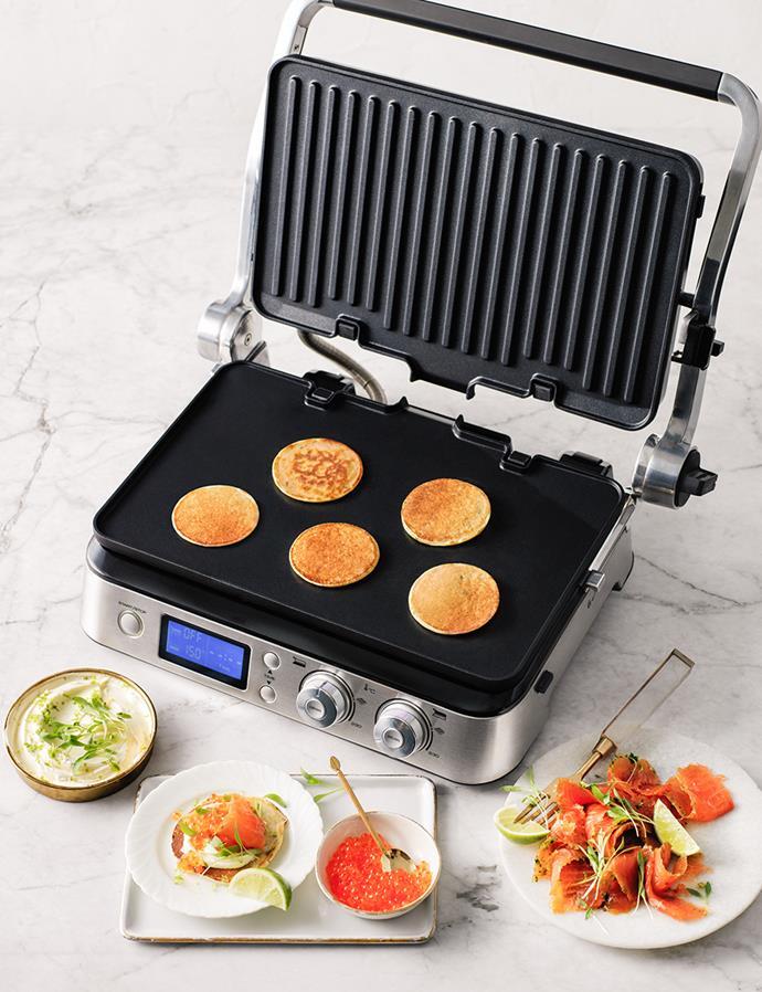 "[DeLonghi Grill Sandwich Press](https://www.harveynorman.com.au/kitchen-appliances/small-kitchen-appliances/grills-sandwich-presses|target=""_blank""|rel=""nofollow"") at Harvey Norman"