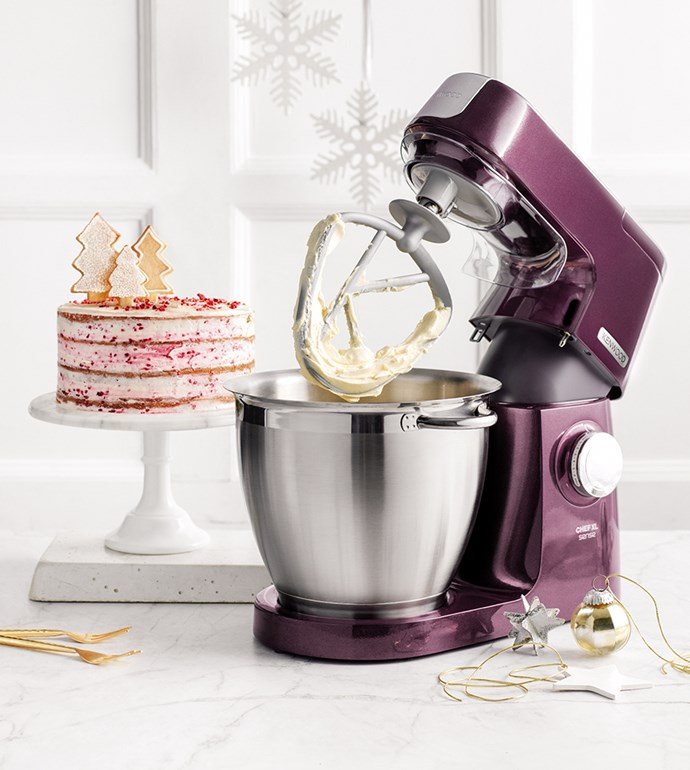 "[Kenwood Chef XL Sense Stand Mixer](https://www.harveynorman.com.au/kitchen-appliances/food-preparation/mixers-food-processors/kenwood+appliances/mixers/993-1065|target=""_blank""