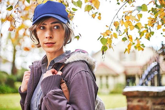Geraldine stars in *Wanted's* third season.