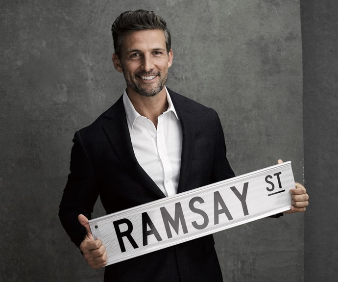 Tim is enjoying his time on Ramsay St.