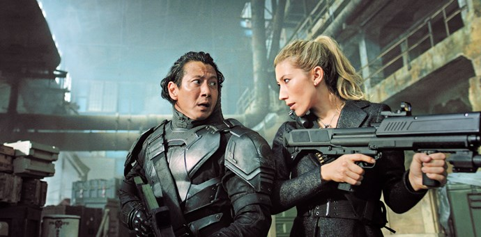 Will Yun Lee and Dichen as siblings Takeshi Kovacs and Reileen Kawahara in *Altered Carbon.*
