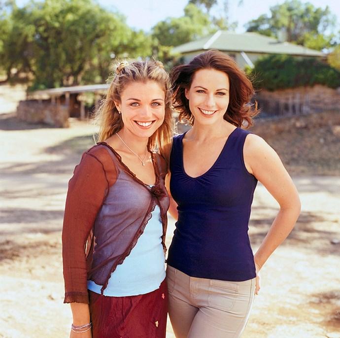 Bridie and Lisa in *McLeod's Daughters.*