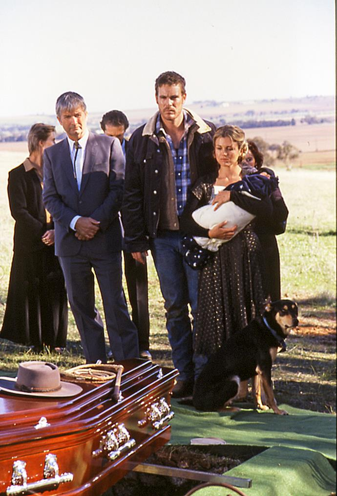 The episode involving Claire's funeral.
