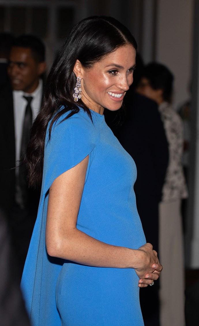 Duchess Meghan is due in Australian Autumn. *(Source: Getty)
