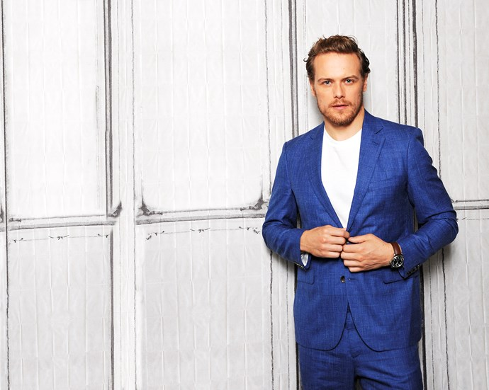 Sam Heughan's life has changed since he scored the role on *Outlander.*