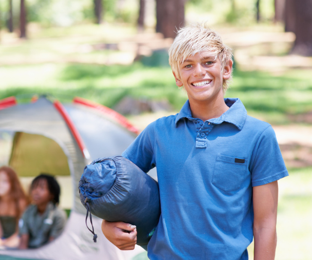 **Sleeping:** Different school camp facilities may have individual requirements when it comes to bed time. You may be asked to provide any of the following: Sleeping bag, sleeping mat, pillow, sheets, travel pillow and even, on occasion, a small tent. *Image: Getty Images.*