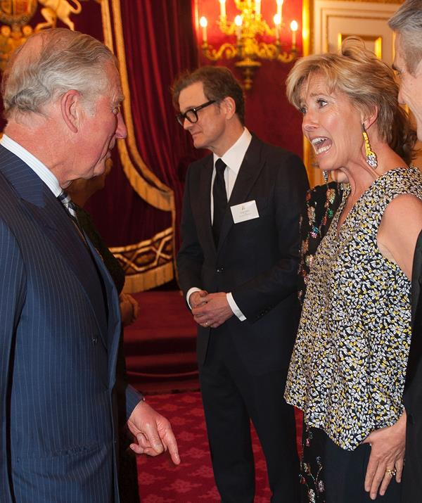 Thompson has long been a friend of Prince Charles and his boys. *(Image: Getty Images)*