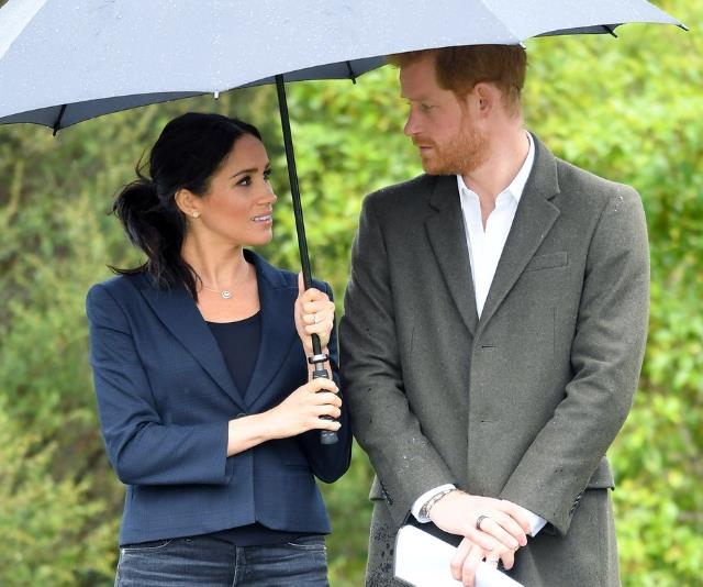 Prince Harry and Duchess Meghan will have to consider this rule when naming their baby. *(Image: Getty Images)*