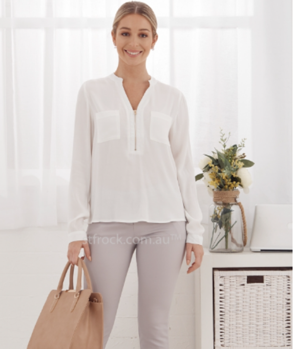 "Zip down tops are a stylish option: Like with the button down options, a zip down style top or dress allows easy access ... just a bit quicker! A stylish option for fashion-conscious mums, you'll always find a great selection of zip down fashion at online store [St Frock (pictured).](https://www.stfrock.com.au  |target=""_blank""