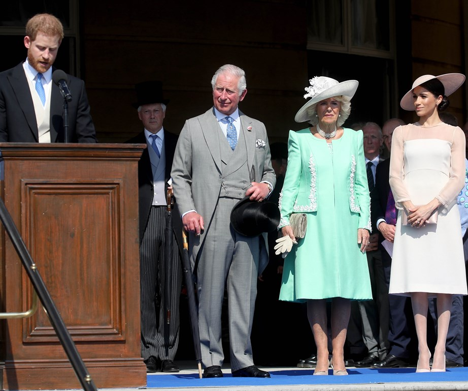 Prince Harry also speaks about his father's serious commitment to his work.