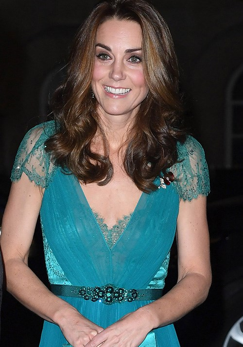 Duchess Catherine wowed us once again in a recycled dress for an event in London. *(Image: Getty)*