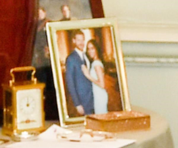 If you squint really hard, you can make out a couple in love! Royal fans were thrilled to get a peek at the sweet unseen photograph.