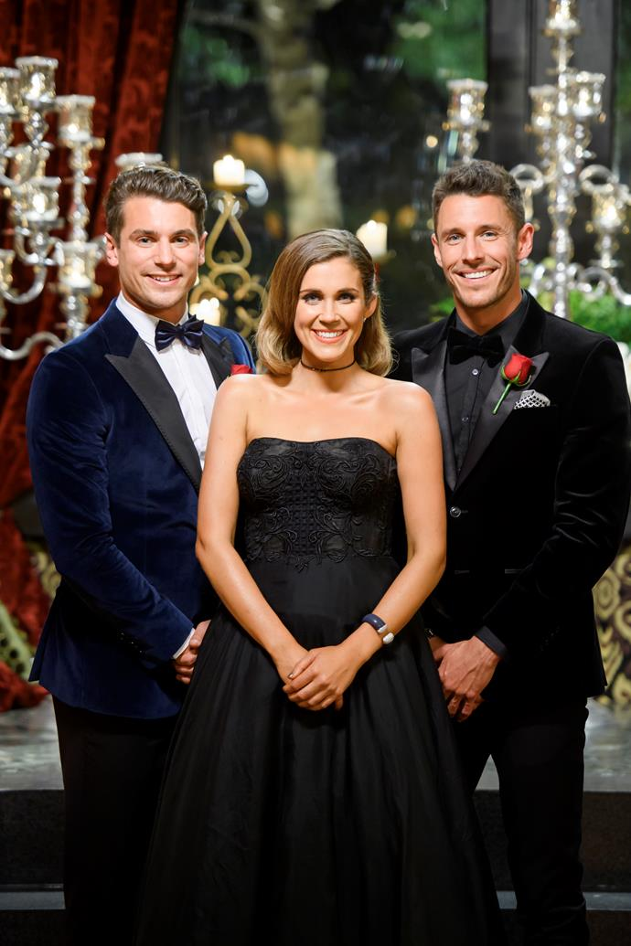 "Georgia said she was ""100 per cent on her own"" when it came to choosing Matty J (left) and Lee Elliott (right) to bring to the finale."
