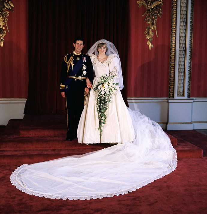 Charles and Diana, who had a 13 year age difference between them, looked royally perfect in their official photographs. *(Image: Getty)*