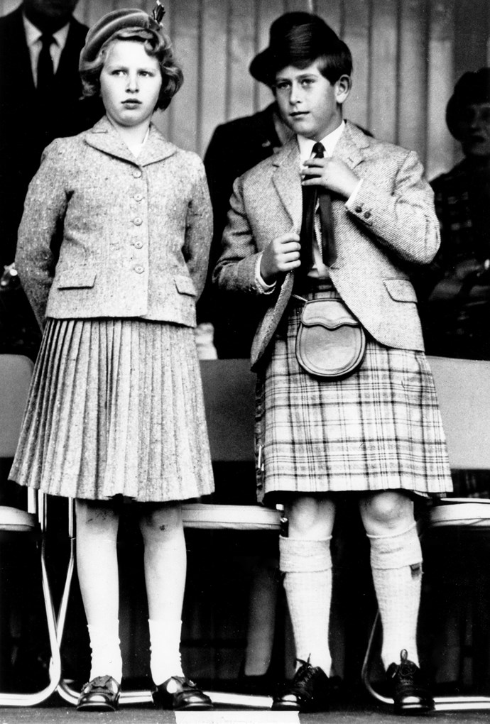 Watch and learn: The royal siblings were always poised during formal engagements. *Image: Getty Images*