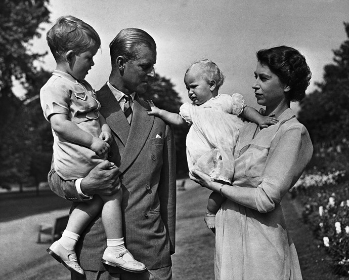 Princess Anne stole the show for a while there, but cute Prince Charles never struggled to melt hearts. *Image: Getty Images*