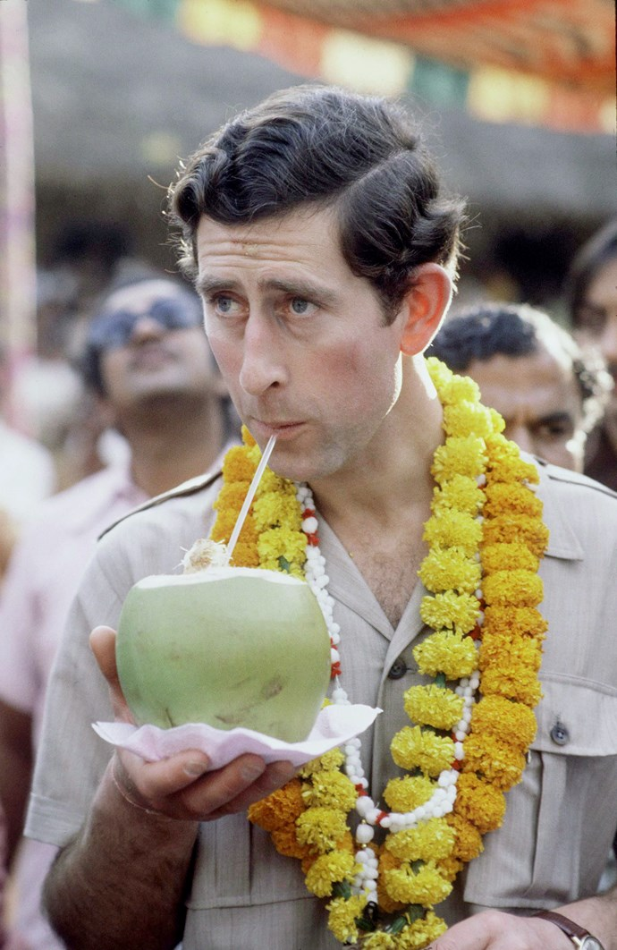 The Prince embraced full Indian culture during a visit in 1980. *Image: Getty Images*