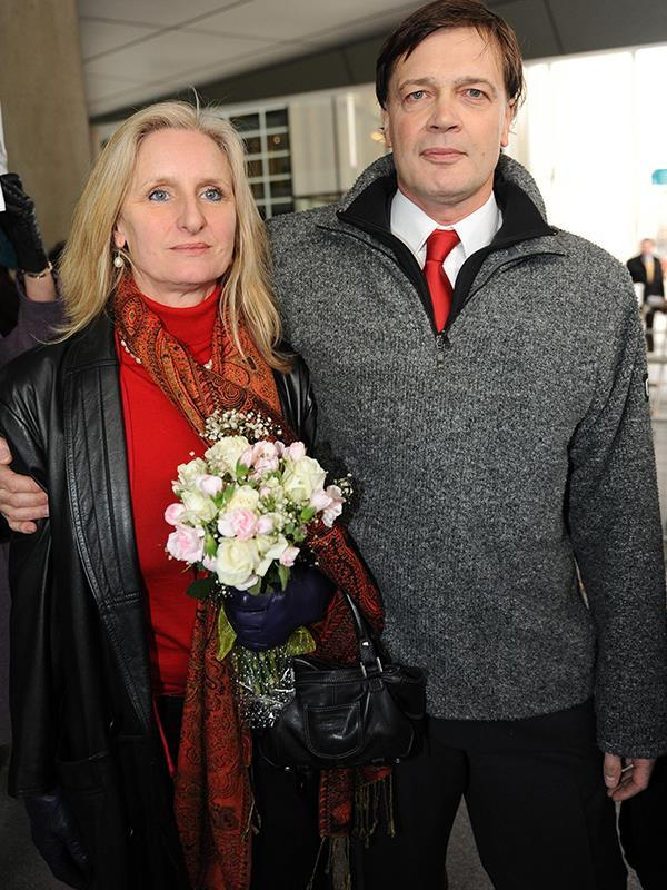 Andrew Wakefield and his soon-to-be ex wife Carmel. *(Image: Getty Images)*