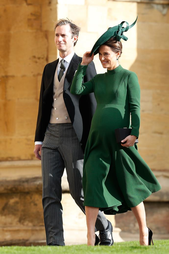 Pippa Middleton and husband James Matthews have picked a very special name for their firstborn child. *(Image: Getty)*