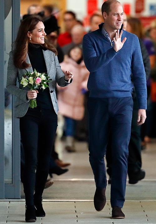 Kate and William expressed their joy over the news about their newborn nephew. *(Image: Getty)*