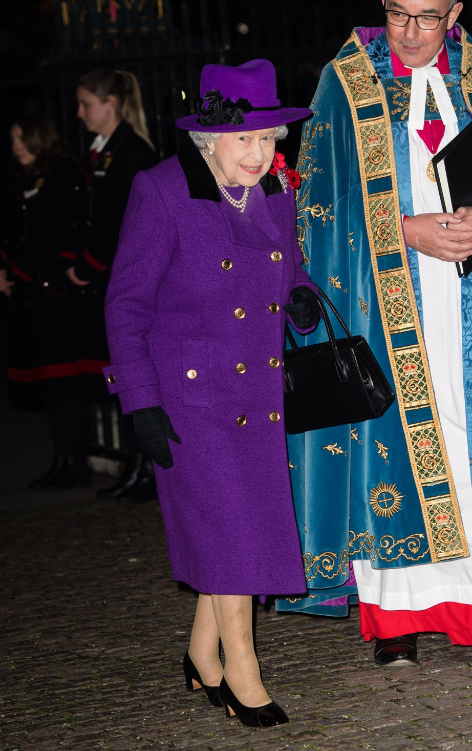 The Queen loves to wear bright colours, and this event was no different!