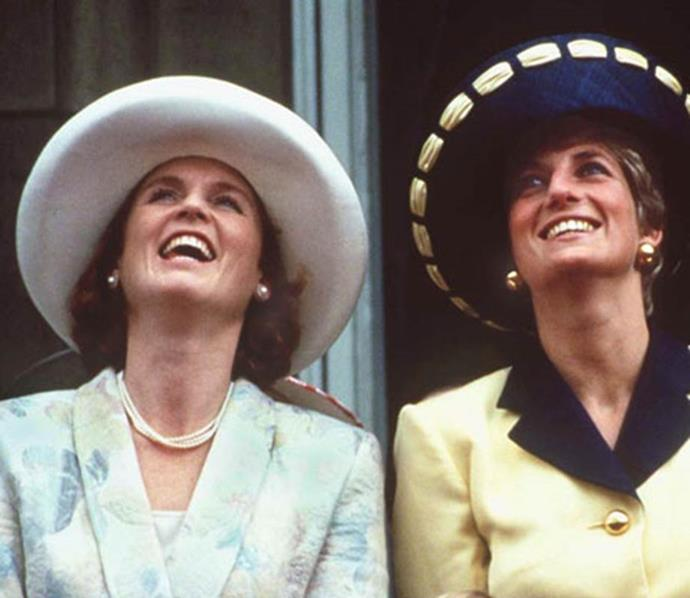 Sarah Ferguson and Princess Diana were famously close. *(Image: Getty Images)*