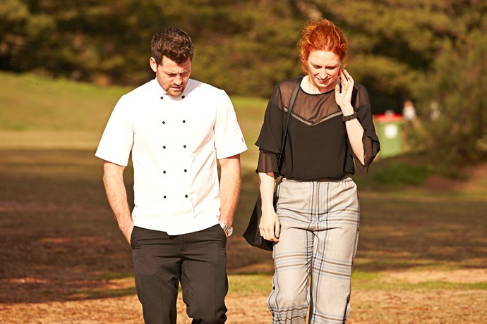 Simone is Brody's new cooking protege on *Home and Away.*