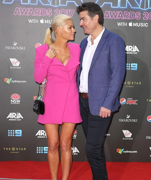 "RIP, Sophie Monk and Stu Laundy! They'd weathered a barrage of split reports so the *Bachelorette* couple used the [2017 ARIAs red-carpet](https://www.nowtolove.com.au/celebrity/celeb-news/sophie-monk-and-stu-laundy-2017-aria-awards-red-carpet-43174|target=""_blank"") to attempt to send a message they were still together. They officially broke up just two months later."