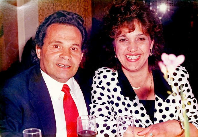 Pina with her late husband Bart.