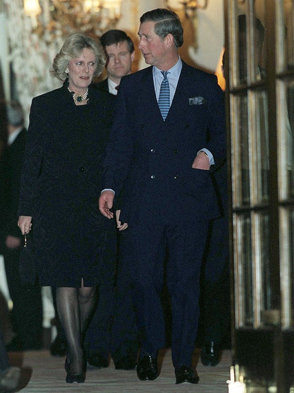 Prince Charles and Duchess Camilla on their first official date. *(Image: Getty Images)*