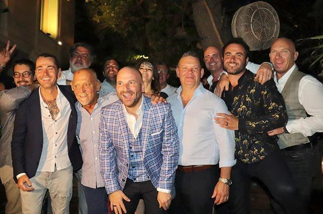 The wedding was studded with celebrity chefs! *(Image: Instagram / @travismcauley)*