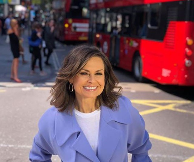 Lisa has travelled around the world this year to secure interviews with names like Bradley Cooper, Serena Williams and David Beckham for *The Sunday Project*. *(Image: Lisa Wilkinson Instagram)*