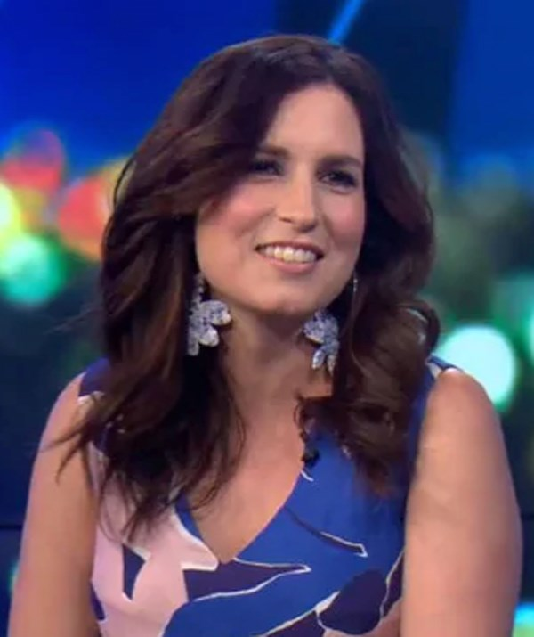 Oops! Missy Higgins 'fesses up on *The Project* last night. *(Image: Channel 10)*