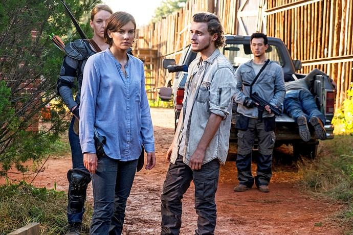 Callan appears in *The Walking Dead.*