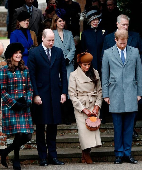 The annual pilgrimage to church on Christmas morning gives fans a glimpse of their favourite royals. *(Image: Getty)*