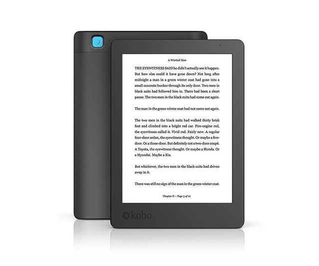 Long, dark nights and grubby little hands don't mix all that well with paperbacks, so splash out on a new e-reader for Christmas. You'll tear through the latest Liane Moriarty novel while doing the dream feeds. <br><br> [Kobo Aura E-Reader](https://au.kobobooks.com/products/kobo-aura), $179.95
